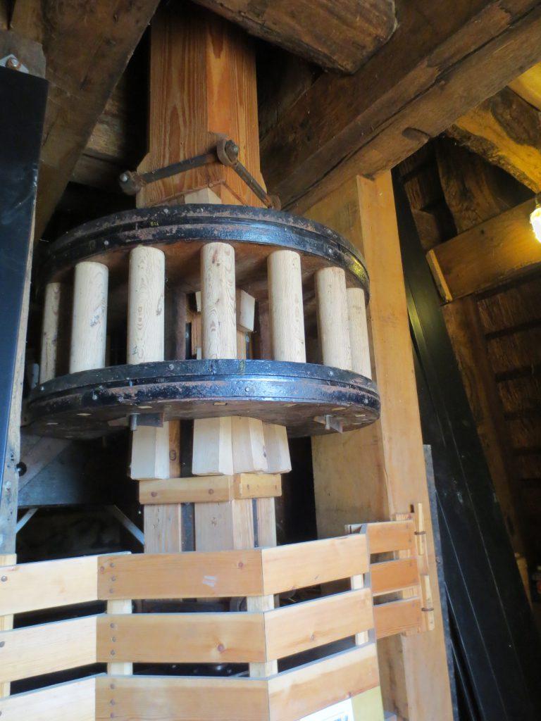 Onderrondsel van molen
